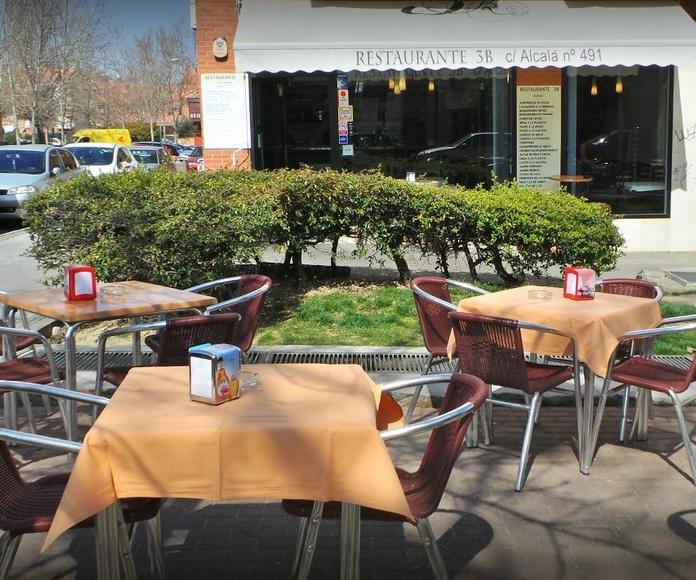 Nuestro Restaurante: Productos y Servicios de Restaurante 3B
