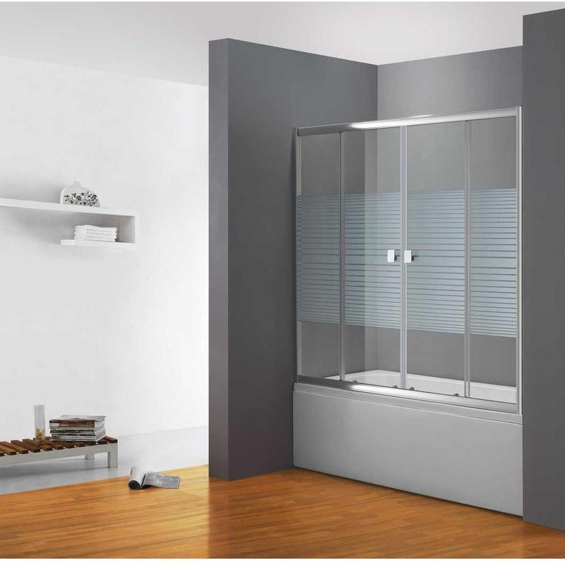 Bathroom screens: Products de Cristalería Juanco