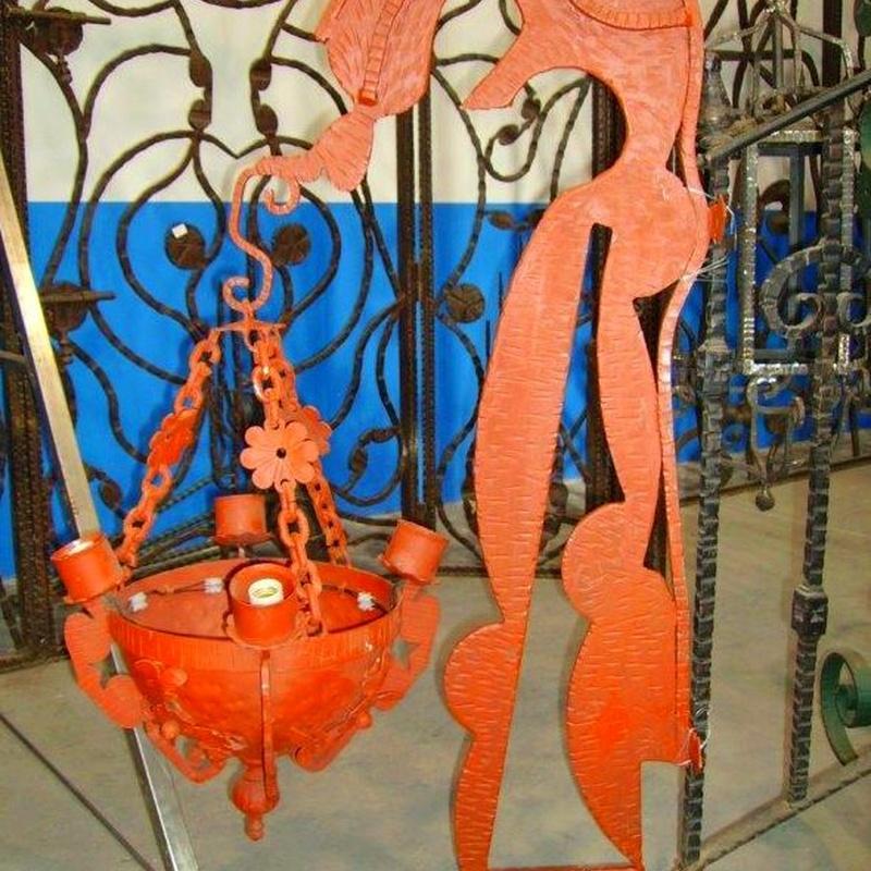 Apliques : Productos  de Forja Artesanal Hnos. González Marrón