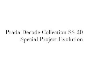 Catálogo Prada 2020
