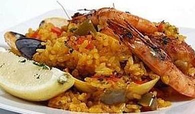 Paella mixta Cal Nano