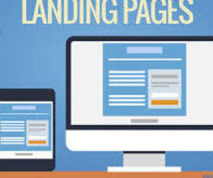 Landing Page o Página de Aterrizaje