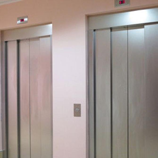 ¿Cuáles son las partes de un ascensor?