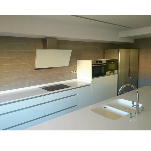 Cocina lacado Luxe: Trabajos realizados de Cocinas Benamu, S. C. A.