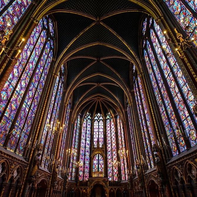 El cristal y la luz en la historia