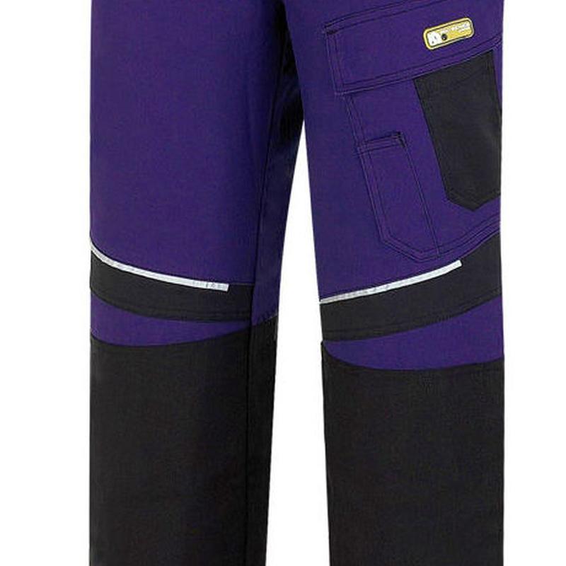 Pantalón tergalde color azul marino/negro.: Catálogo de Frade Ropa de Trabajo