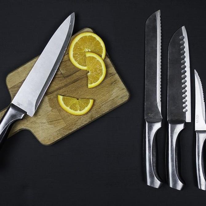Métodos para afilar la cuchillería