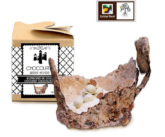 Bombones de coco: Nuestros productos de Chocolates Sierra Nevada