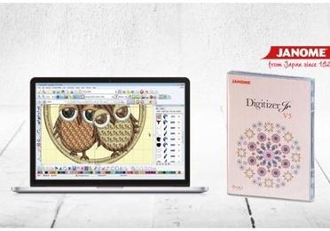 Programa de bordado Janome Digitizer JR