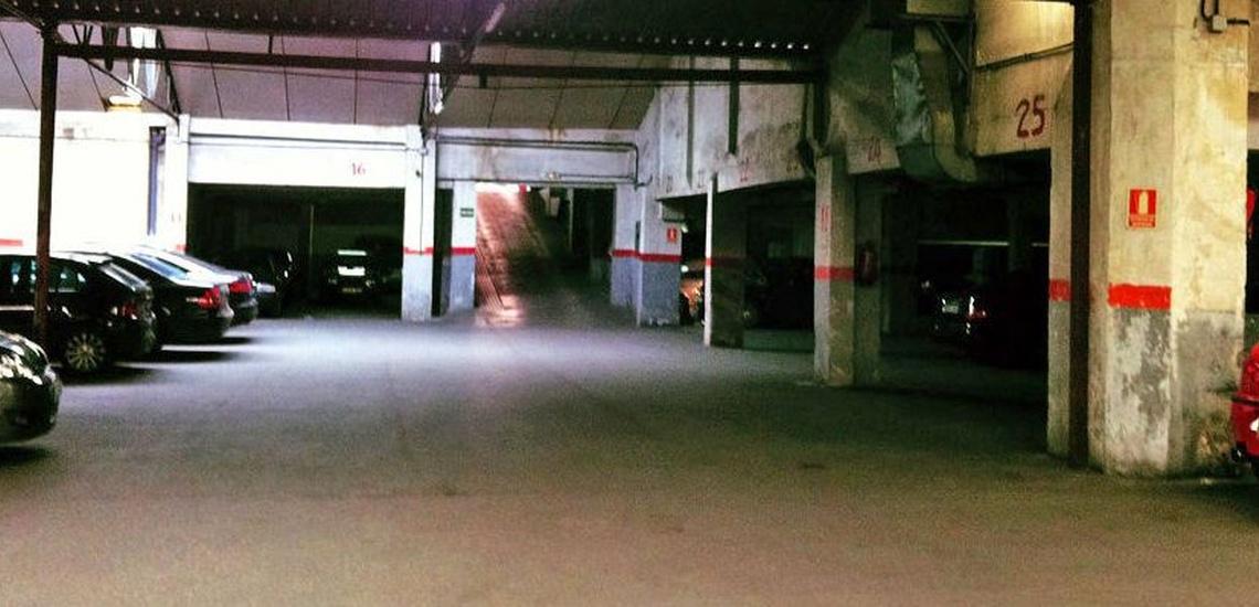 Parking por horas en Nuevos Ministerios, Cuatro Caminos