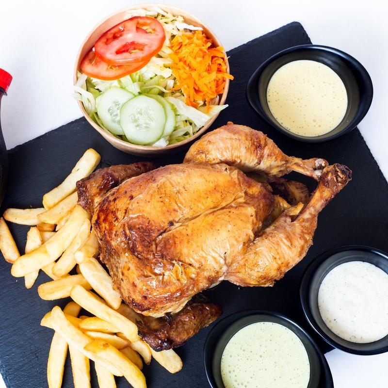 COMBO DE POLLO A LA BRASA PERUANO: CARTA DE PRODUCTOS de Chicken Grill