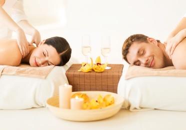 Masaje en pareja luxury