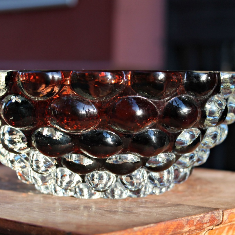 Bowl de cristal de Murano diseño Ercole Barovier: Artículos  de Ruzafa Vintage