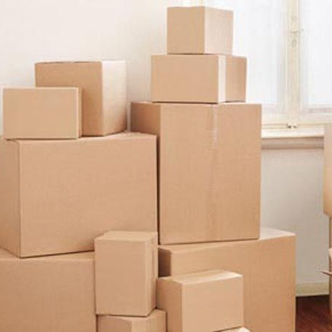 Las cajas para mudanzas
