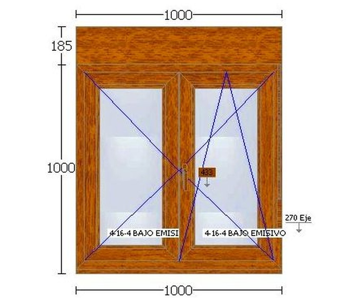 PVC 70 mm : Ventanas en Stock of Ventanas Arsan