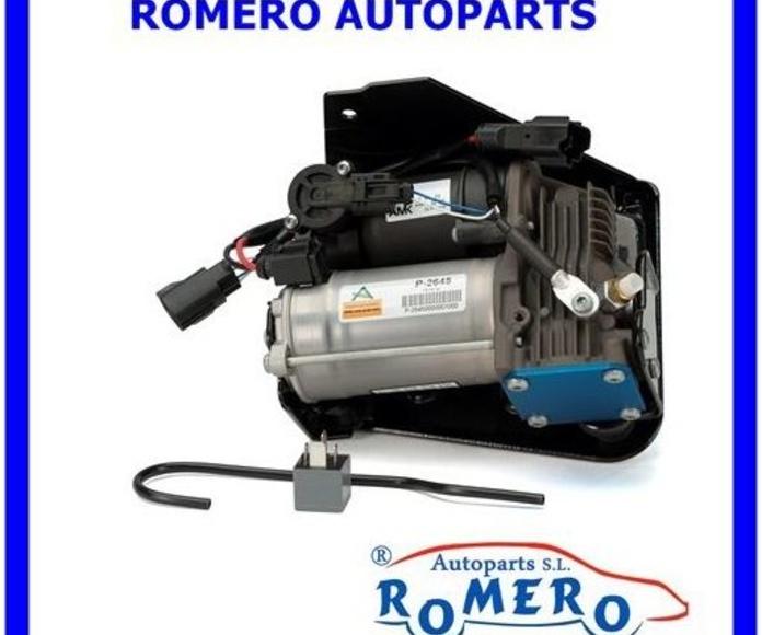 Land Rover-Ranger Rover: Suspensiones y vehículos de Romero Autoparts Zaragoza