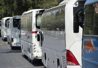Lavado de autobuses