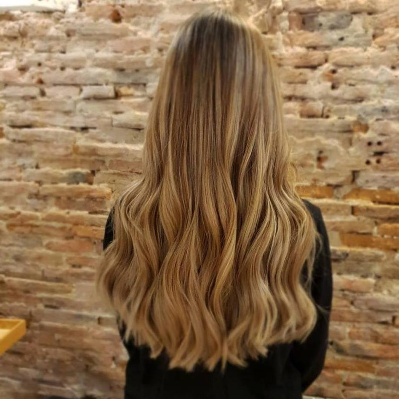 Mechas- Honey blonde Centro Madrid