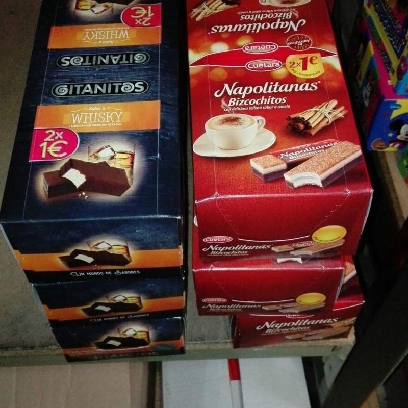 Galletas y bollos: Productos   de Candy Five, S.L.