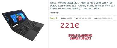 Talius - Portatil Laptop1301