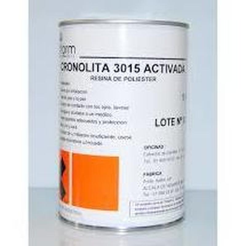 Resina Flexible. Cronolita 3015 Activada en almacén de pinturas en ciudad lineal.
