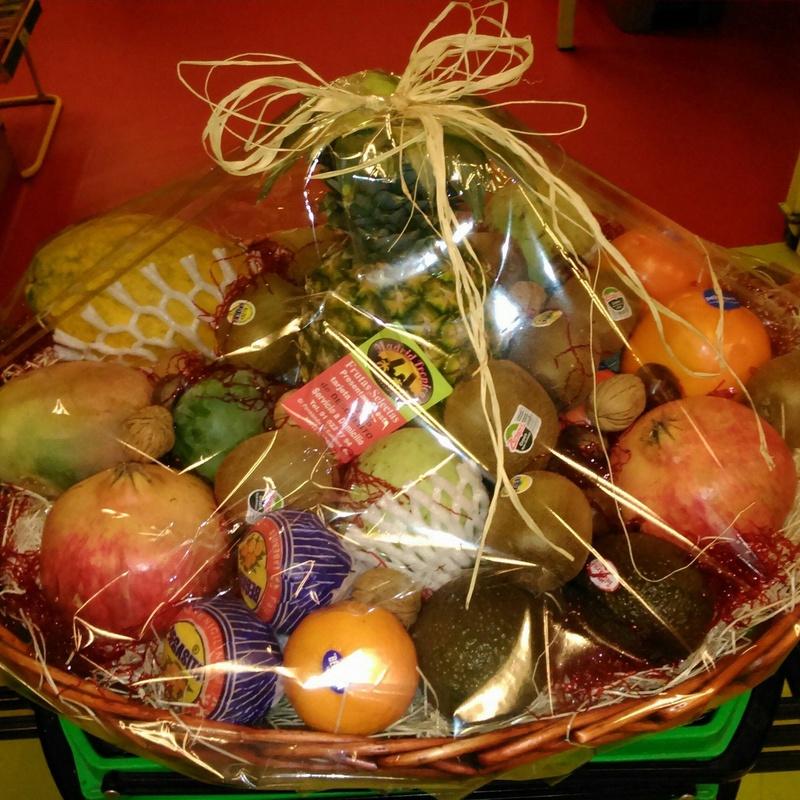 Cestas de fruta: Servicios de Madrid Tropical Frutas Selectas