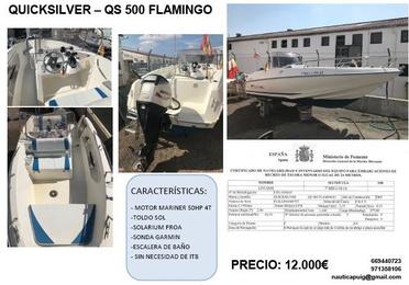 QUICK SILVER QS 500 Flamingo (EN VENTA)