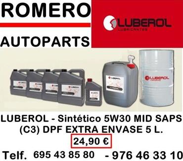 Distribuidores de lubricantes Luberol