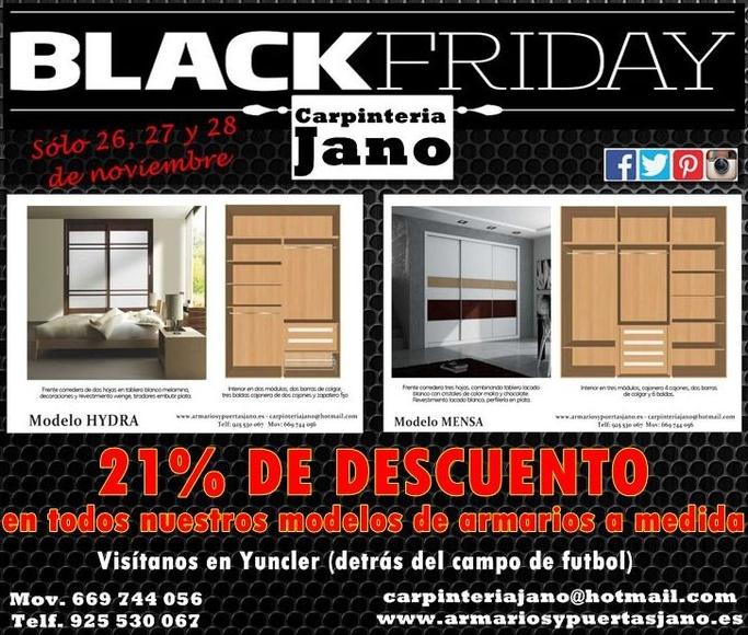 BLACK FRIDAY 21% DE DESCUENTO