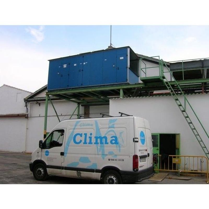 Climatización industrial : Nuestros Servicios de Clima Tudela