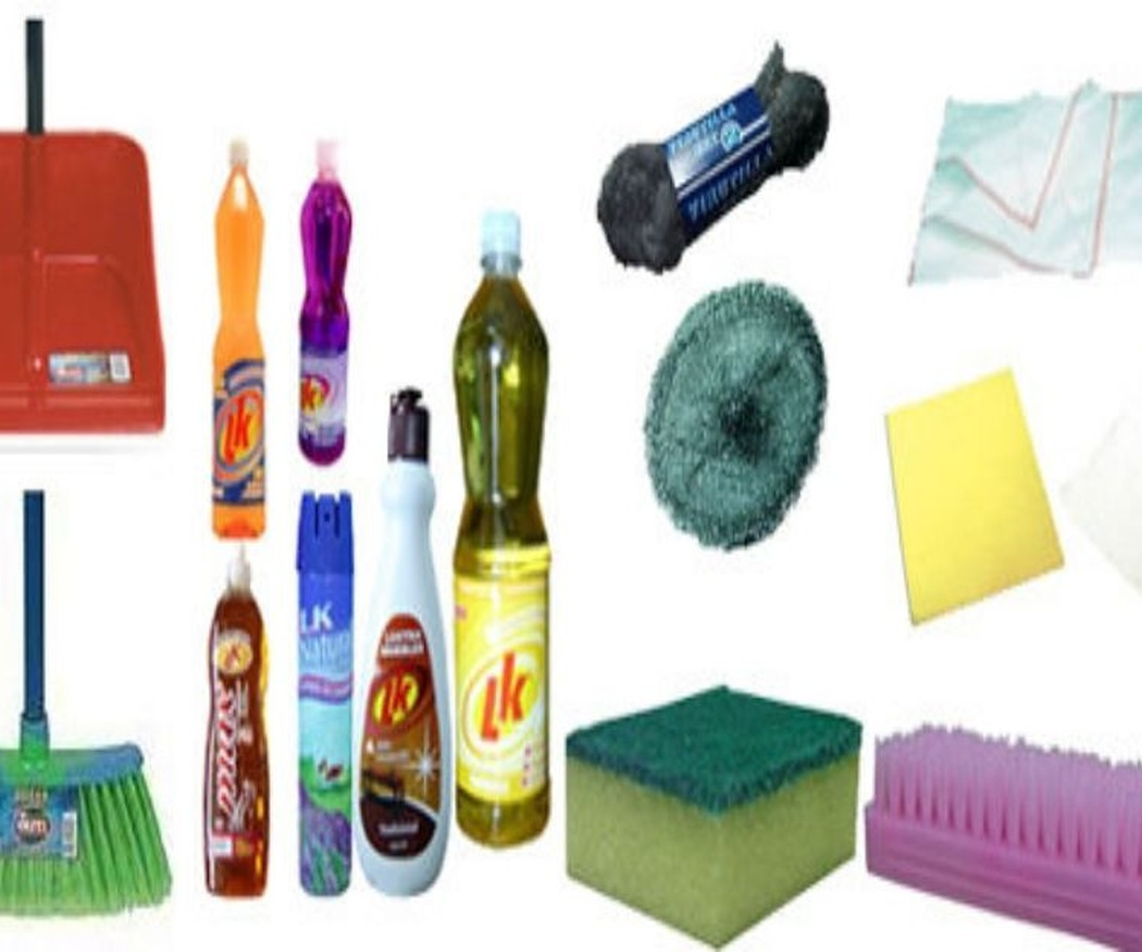 Los productos de limpieza más utilizados