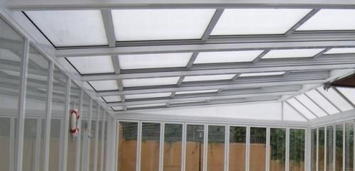 Instalacion de techos de aluminio en Madrid
