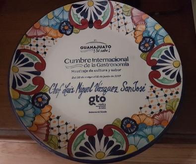 """""""Cumbre Internacional de la Gastronomía"""" en Guanajuato (México) 2017."""
