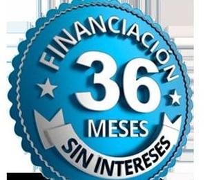 Financie sus compras hasta en 36 MESES SIN INTERESES