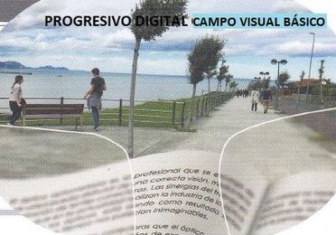 Progresivo digital, campo visual básico