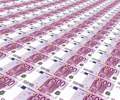 Desaparición de los billetes de 500 €