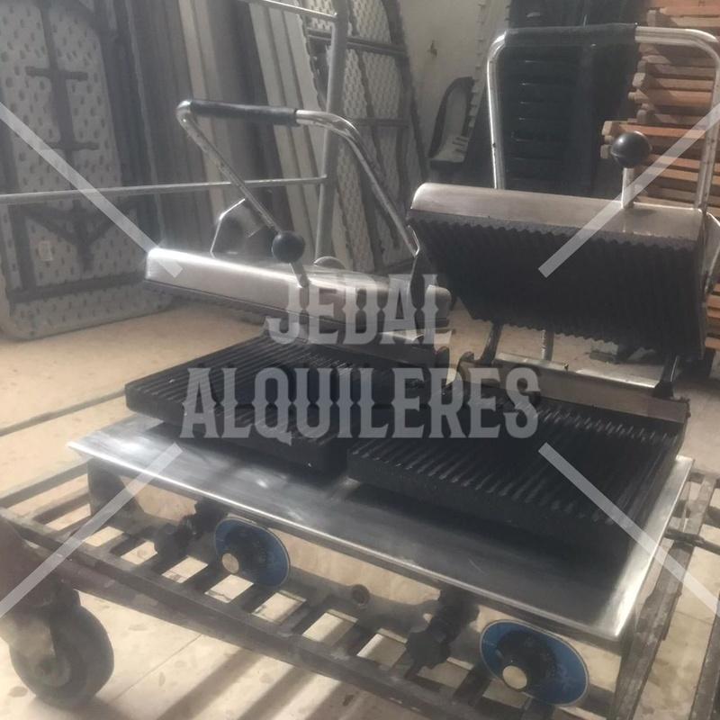 GRILL TOSTADOR DOBLE: Catálogo de Jedal Alquileres