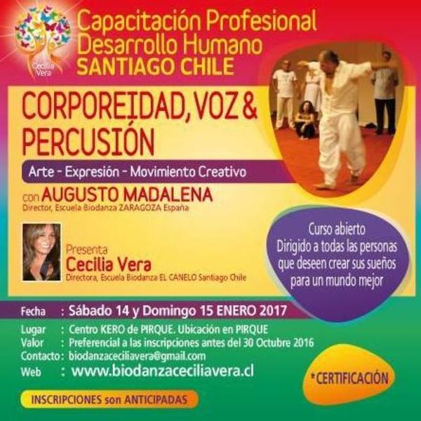 Biodanza por el mundo con Augusto Madalena 2017