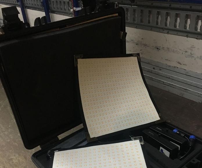 Led: Material en alquiler de MAP