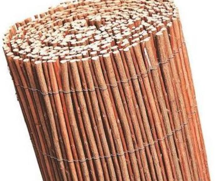 Mimbre sin pelar: Materiales de construcción de Can Curreu