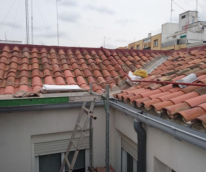 Instalaciones (chimeneas, bajantes y canales): Servicios de Arastur Vertical