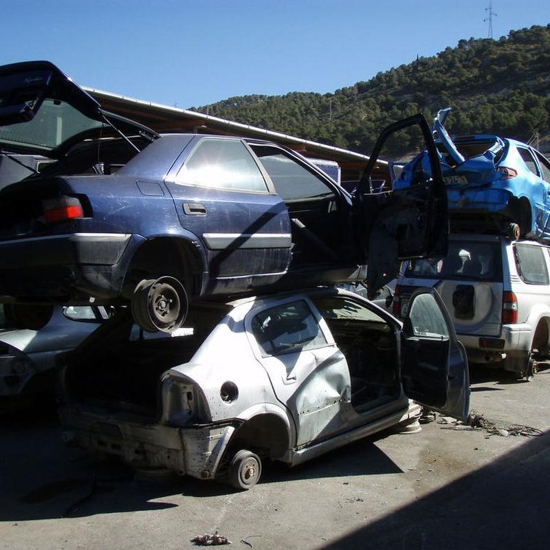 Tramitación de baja en Tráfico: Servicios de Desguaces Sierra