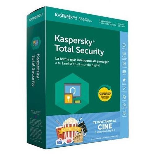 Promoción Antivirus Kaspersky Total Security