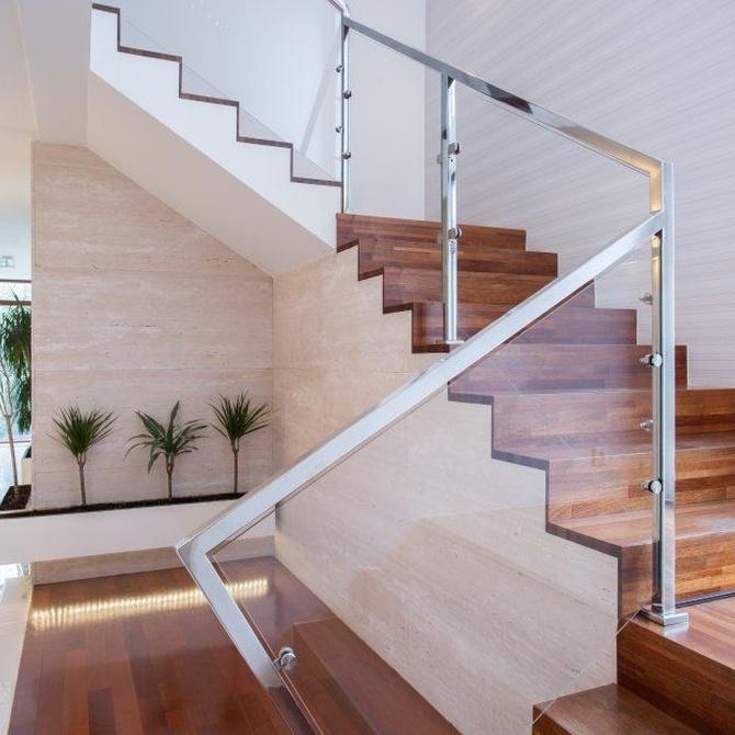 Los pasamanos para escaleras