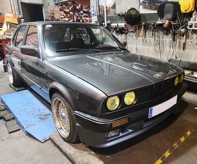 BMW E30 - Ajuste de altura