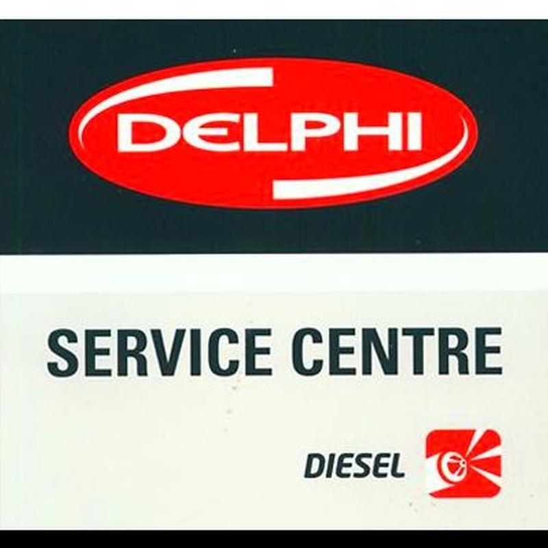 SERVICIO OFICIAL DELPHI DIESEL: SERVICIOS de Electroinyección Utrera
