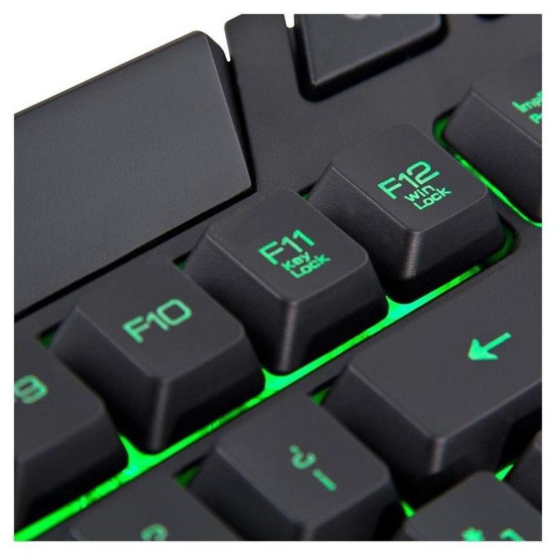 B-Move Teclado BM-TCL02 BG Gaming Led Verde Negro : Productos y Servicios de Stylepc