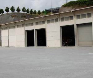Amplias instalaciones para la fabricación de hormigón en Guipuzcoa