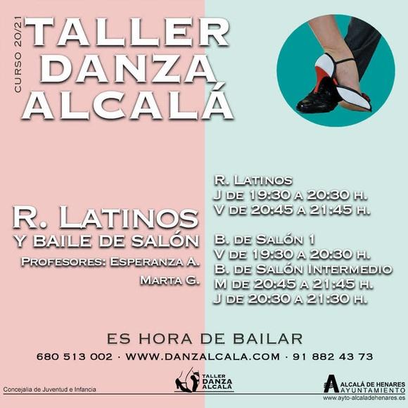 Baile de Salón y Ritmos Latinos : Actividades y horarios   de Taller de Danza de Alcalá
