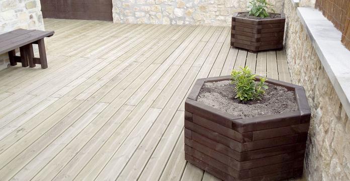Productos de madera para uso en exterior: Productos de Maderas Rupérez